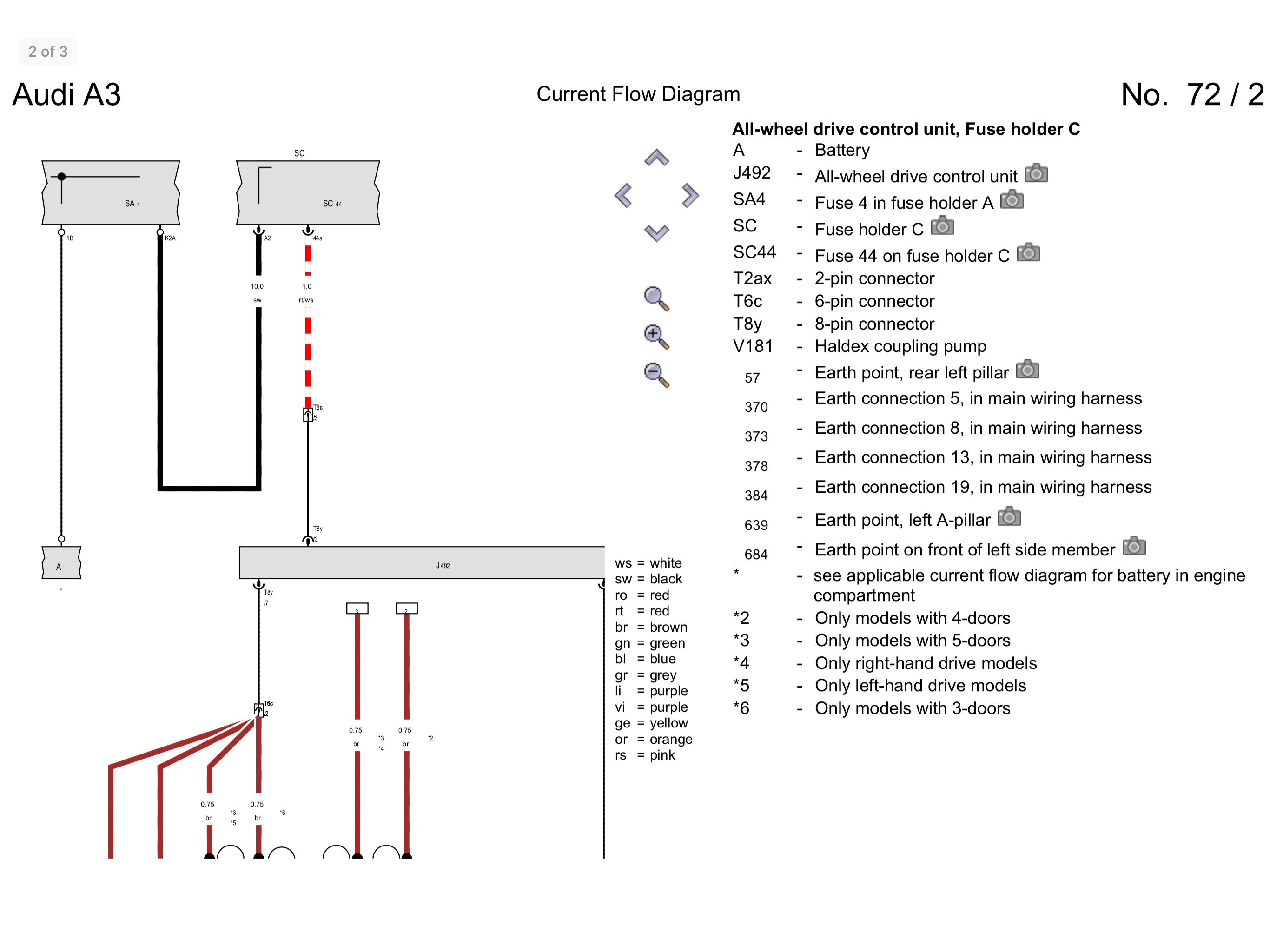Haldex Gen 3 Piping Diagram - 24h schemes on