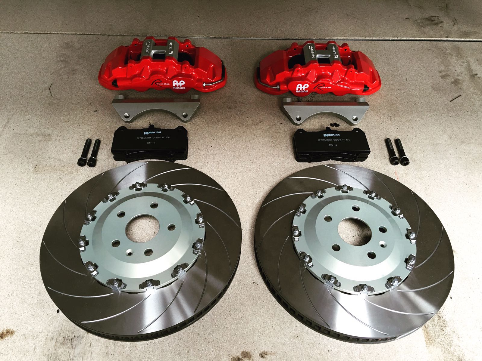Best Brake Pads Brand >> Ap racing front brake upgrade and rs7 rears | Audi-Sport.net