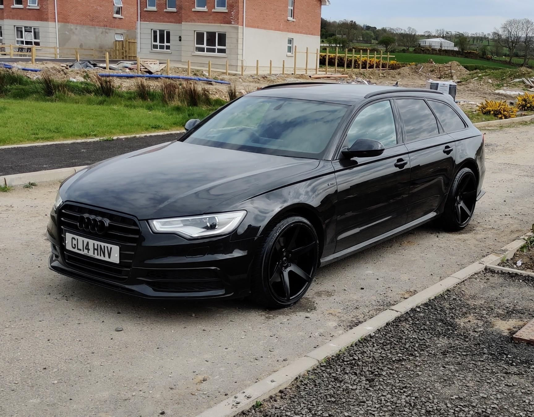 All Black A6 Avant Audi Sport Net
