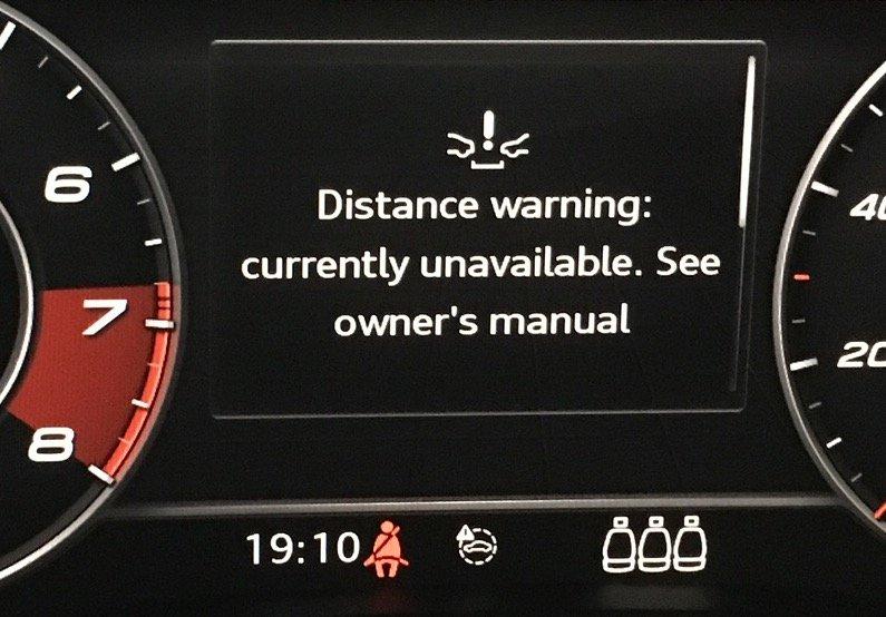 ACC, Pre-Sense, & Distance Warning all