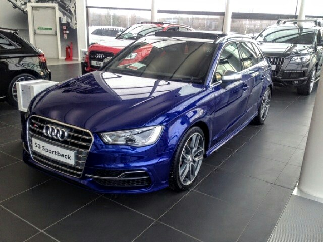 Image Result For Audi A Sportback Cosmos Blue