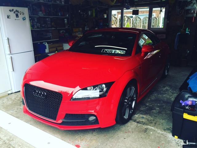 Ttrs Front Grill Audi Sportnet