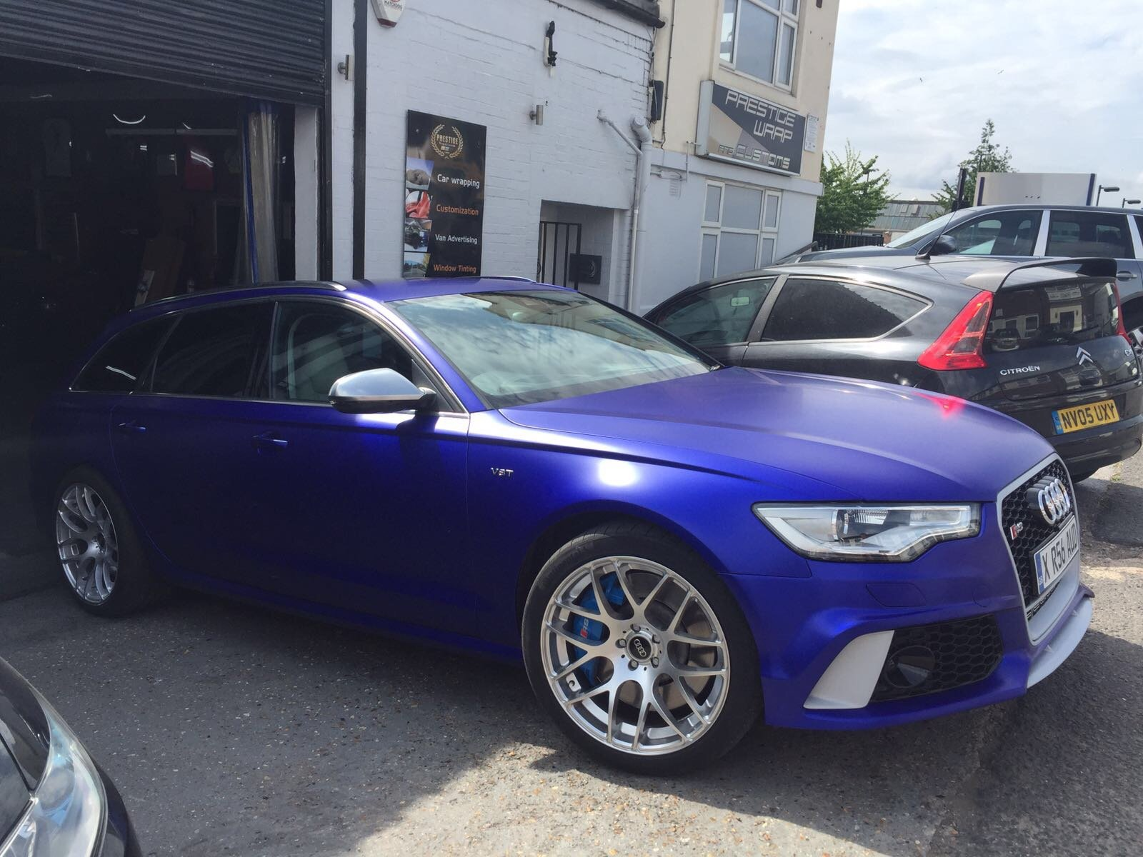 Fresh Rs6 Wrap What Do You Guys Think Audi Sport Net