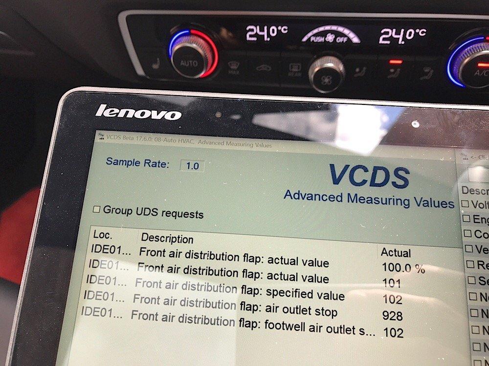 VCDS Fault Code - MY14 Audi S3 Saloon | Audi-Sport net