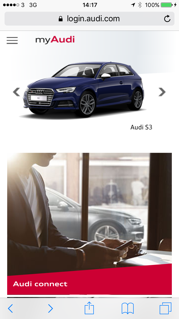 Availability Of Maps In MyAudi AudiSportnet - My audi com