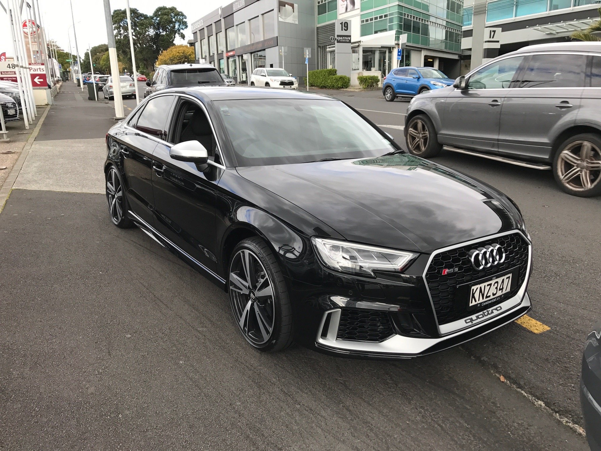 First Rs 3 Saloon Sedan Dealer Delivery Audi Sport Net