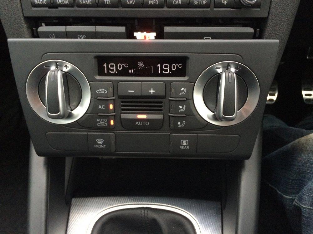 Q3 Climate Control 8p Retrofit Audi Sport Net