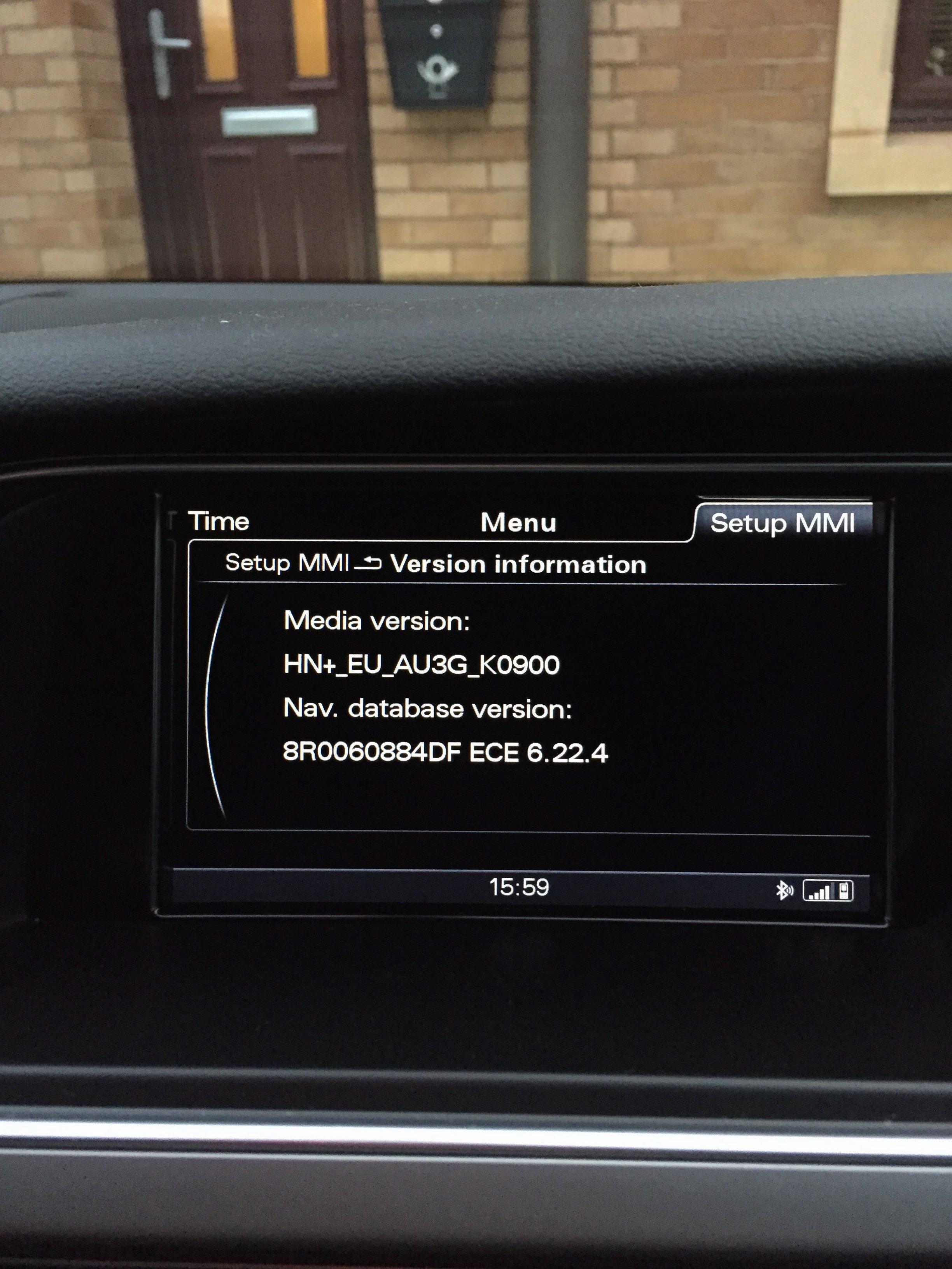 2012 A5 Nav Maps?! | Audi-Sport net