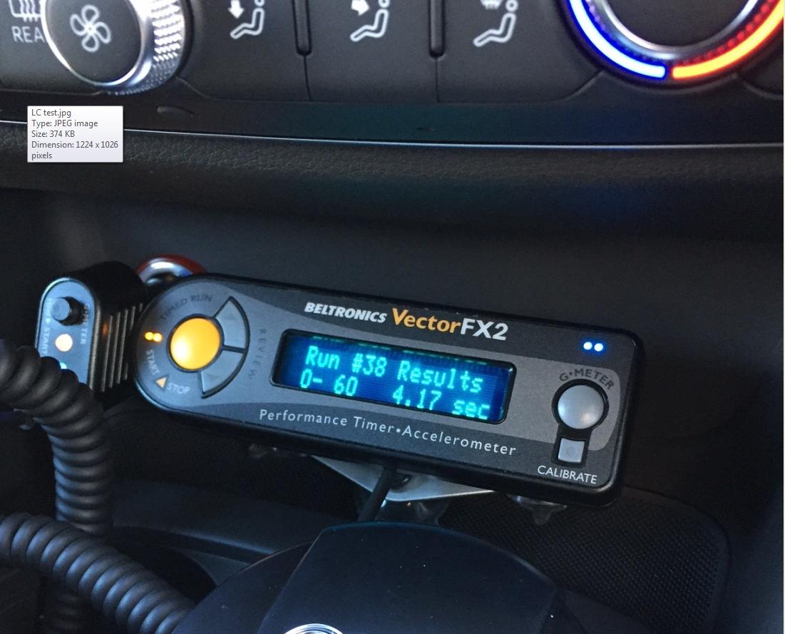 Launch Control Test AudiSportnet - Audi s3 0 60
