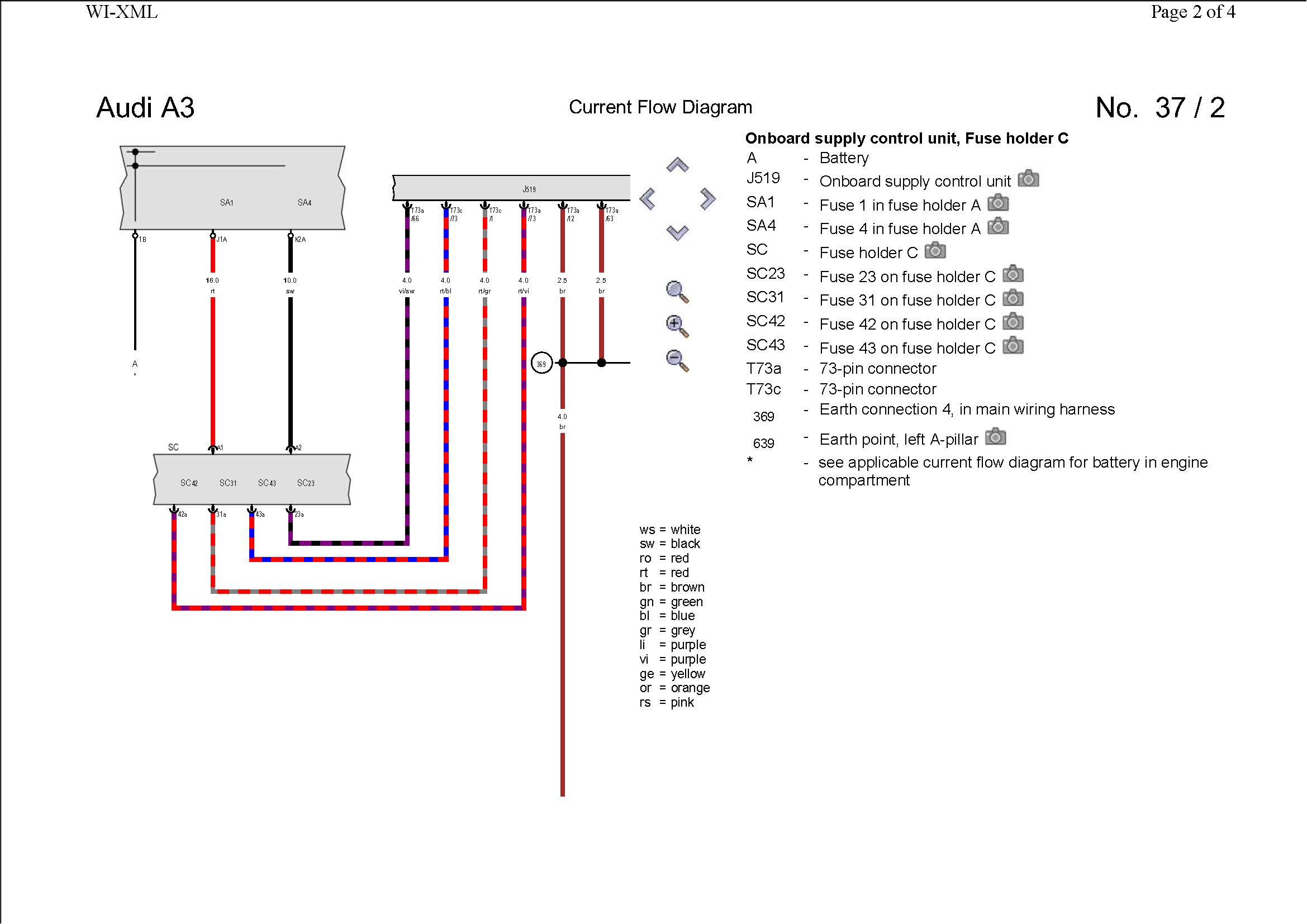 Pin Out / Wiring Diagram (Rear LED cluster) | Audi-Sport net