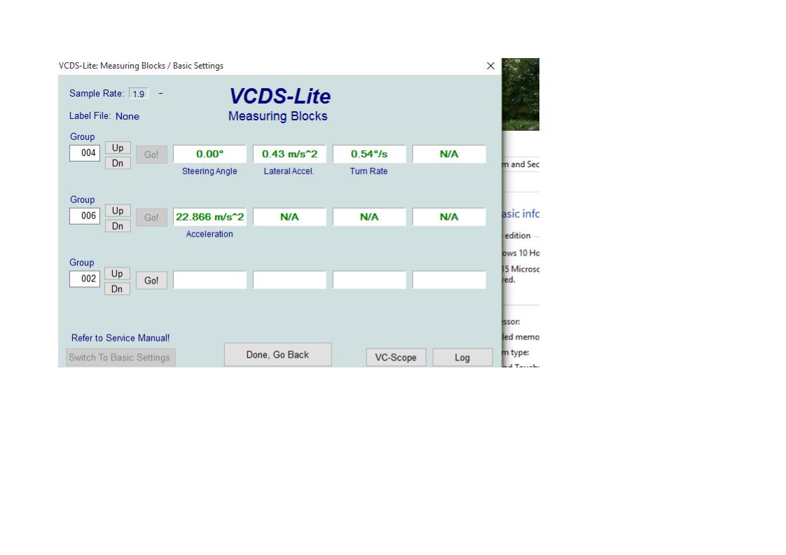 Lateral Acceleration Sensor G200 -ESP Problem fixed :D