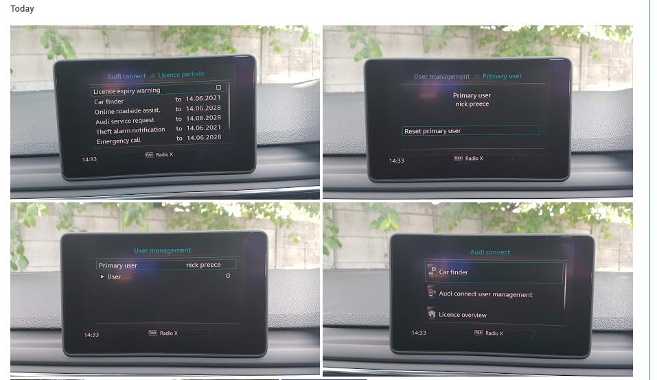 No sim installed? | Audi-Sport net