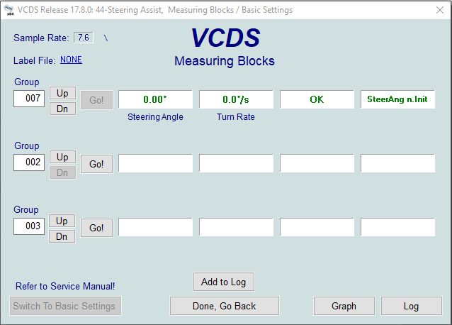 Steering Angle Sensor Help   Audi-Sport net