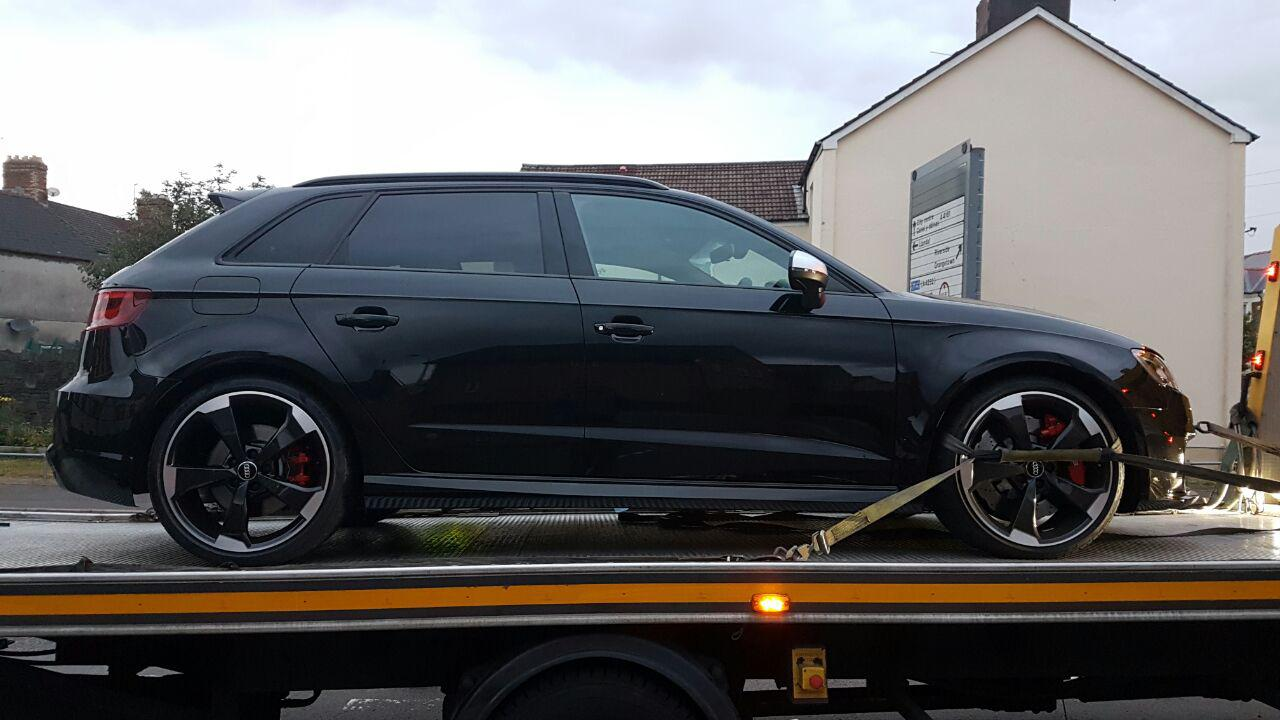 Audi Rs3 8v Catastrophic Engine Failure At 70mph Audi
