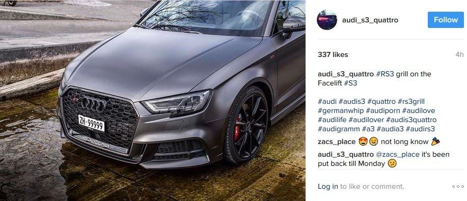 Facelift Us Spec Grill Audi Sport Net