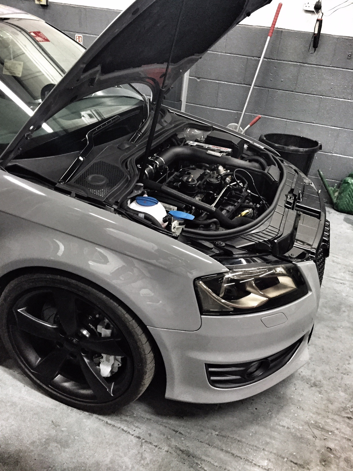 Audi s3 8p bigger turbo 11