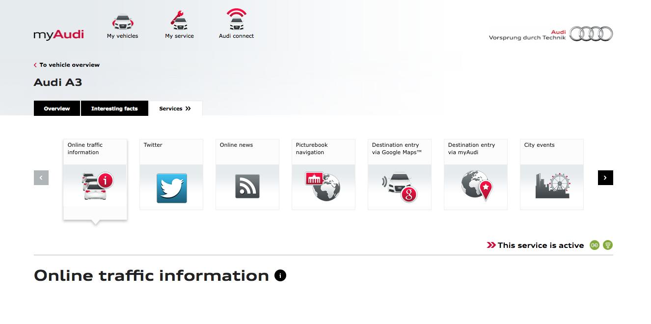 2016 Map Update Audi Sport Net