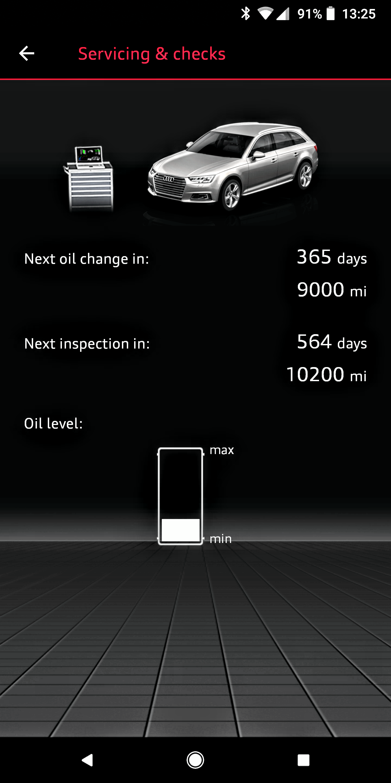 Audi A4 Oil Change Cost >> First Oil Change Service A4 1 4tsi Audi Sport Net