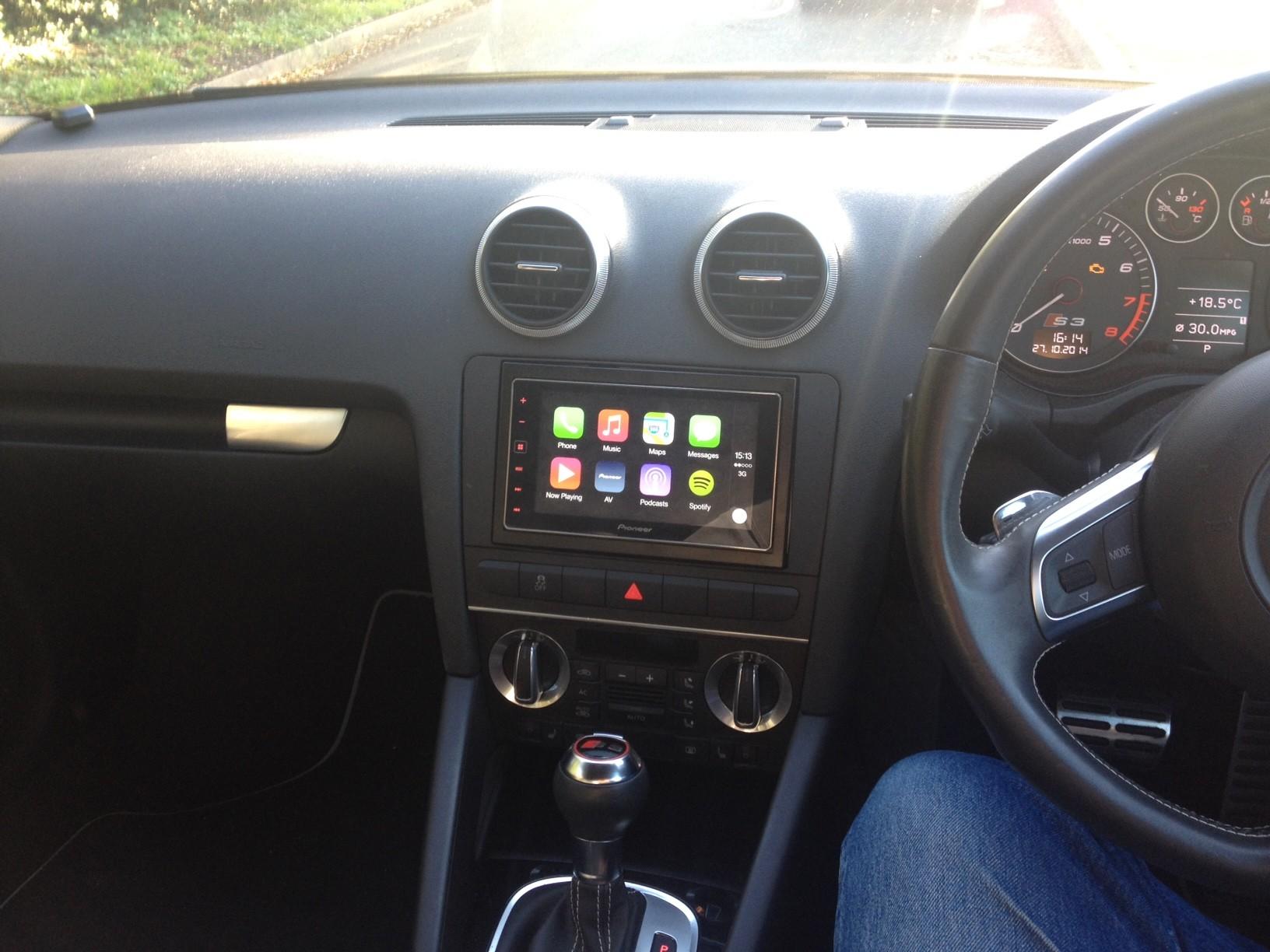 Pioneer Apple Carplay in my S3   Audi-Sport.net