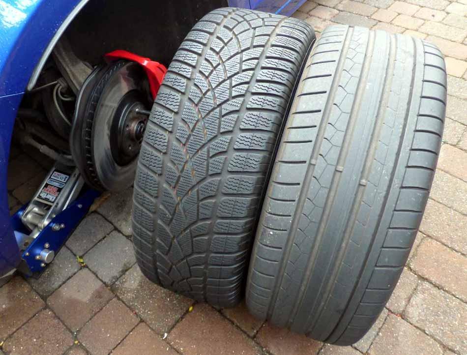 SQ5 summer winter tyres.JPG