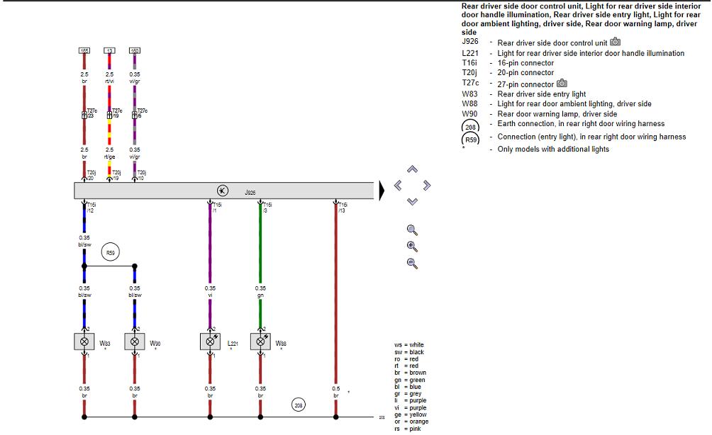 Retrofit Puddle Lights  U0026 Door Warning Lights To 8v
