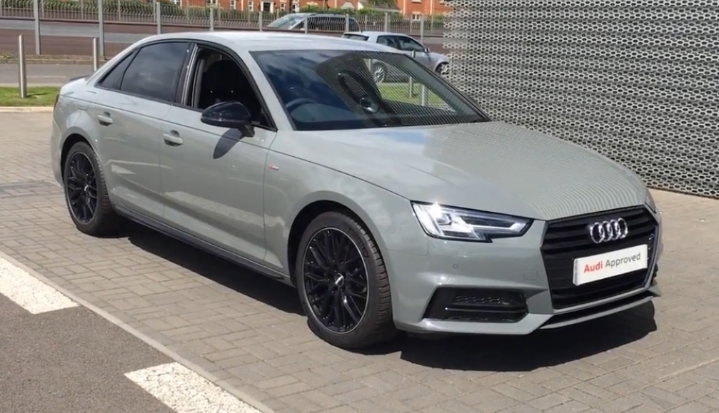 New Member New Order Black Edition Quantum Grey Audi