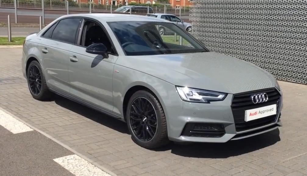 New Member New Order Black Edition Quantum Grey Audi