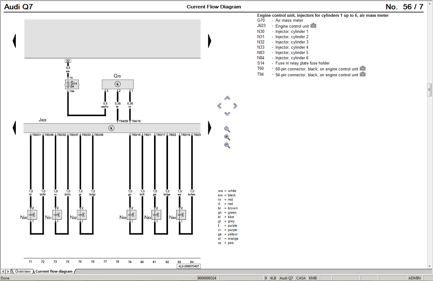 Wiring Diagram Audi A4 B8
