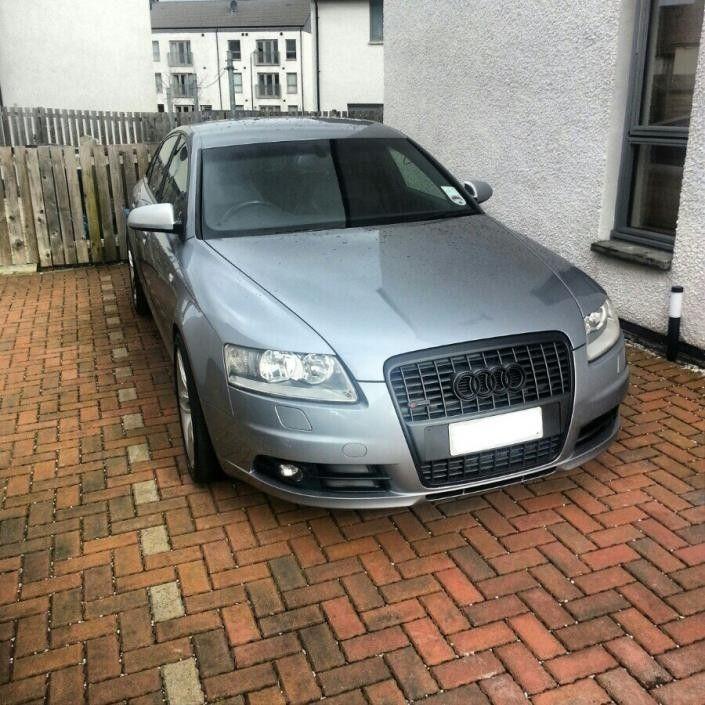 A6 C6 with a black grill | Audi-Sport.net C Audi A Black on audi matte blue vinyl, audi s4, stanced audi s6 c6, audi a2, 2006 a6 c6, audi stretch and poke,