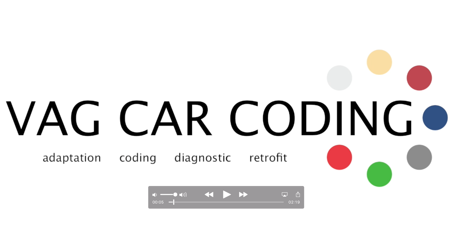 Welcome To The World Of Vag Car Coding Audi Sport Net