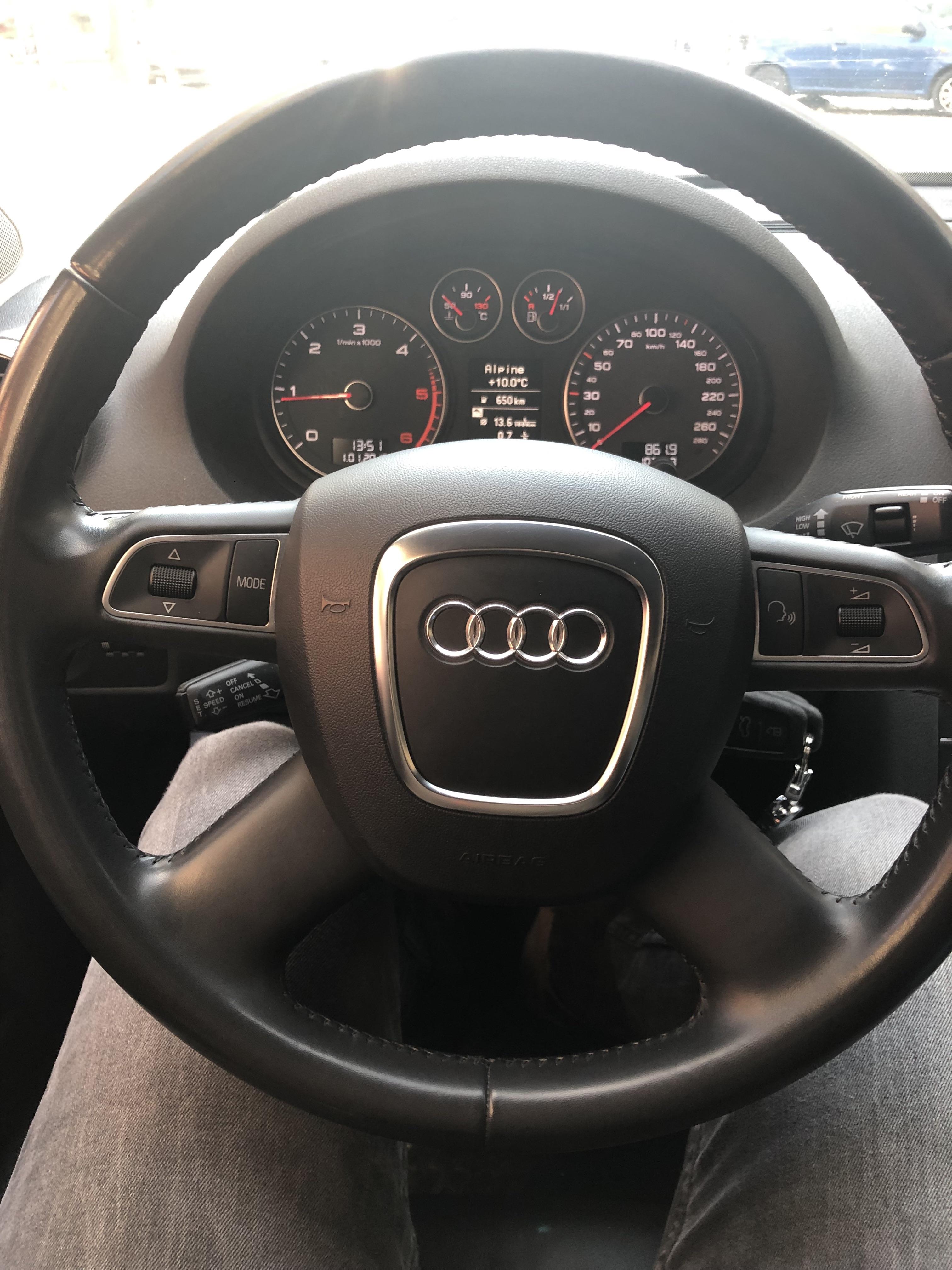 Audi A3 Flat Bottom Steering Wheel Compatibly Audi Sport Net