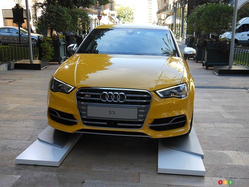 Yellow S3 Saloon Audi Sport Net