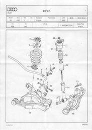 Audi A6 S Line Suspension