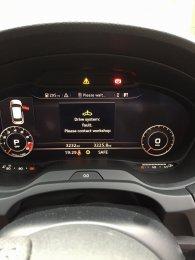 Facelift - Gearbox malfunction    5 days old | Audi-Sport net