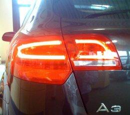 Rear Led Tail Light Question Dim Light Audi Sport Net