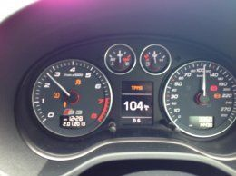 Brake system fault - Audi say no fault codes  | Audi-Sport net