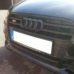How do you remove the audi rings from the front grille? | Audi-Sport net