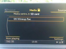 Audi MMI DOES play FLAC | Audi-Sport net