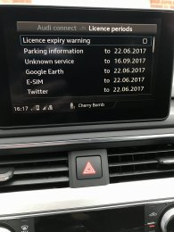 Audi Connect monthly cost after 3 month trial   Any ideas? | Audi