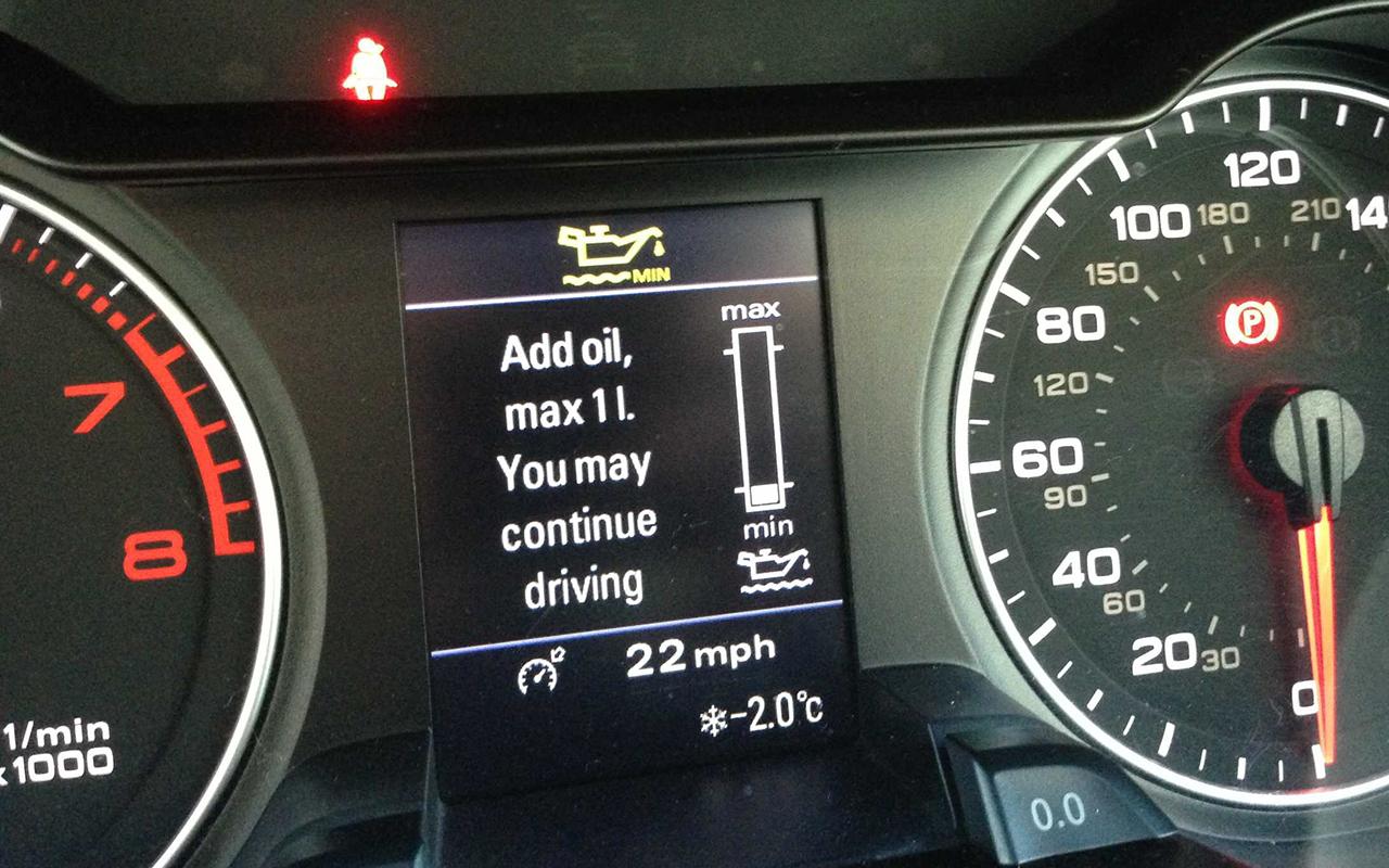 Audi Oil Consumption Problem | Audi-Sport.net